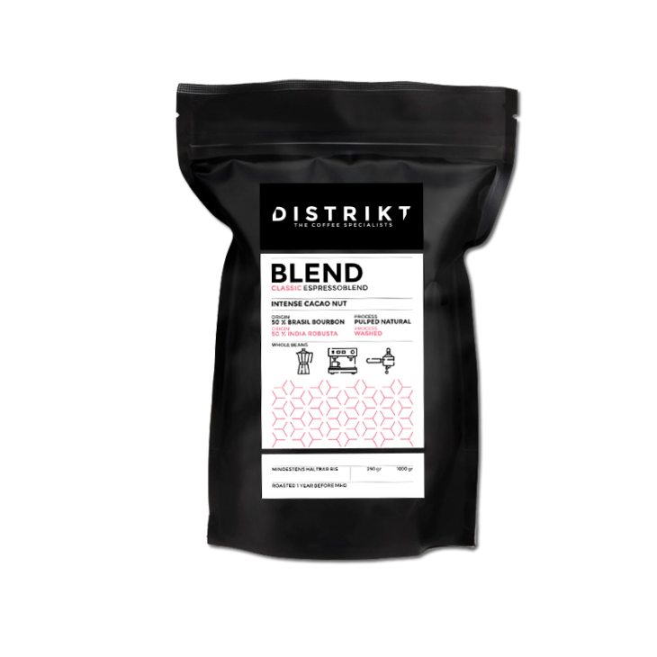 DISTRIKT COFFEE - BLEND CLASSIC Exklusiver Espressoblend 250g