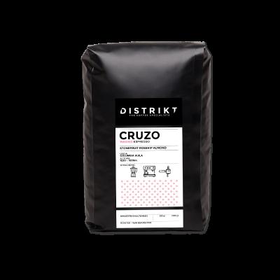 DISTRIKT COFFEE - CRUZO Sortenreiner Espresso 1000g